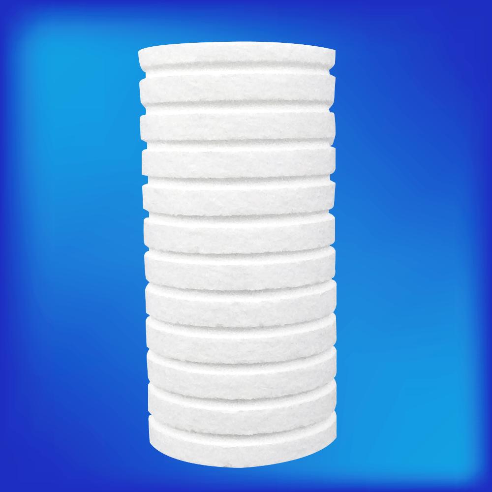 REFIL FILTRO  BEBEDOURO DORA PP  5´´ ENCAIXE Refil para Filtros PP 5 polegadas