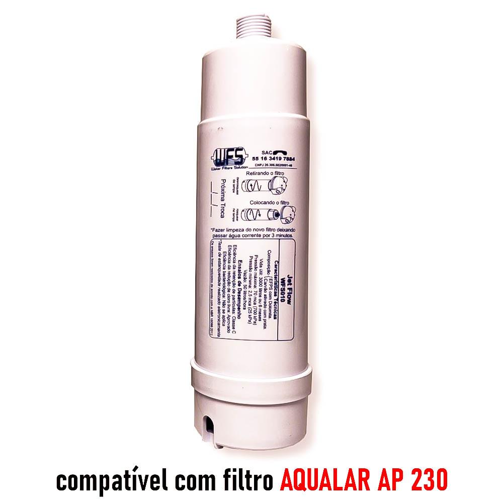 REFIL FILTRO BEBEDOURO (JET FLOW) 230 GDE Refil Purificador  Wfs 010   Jet Flow