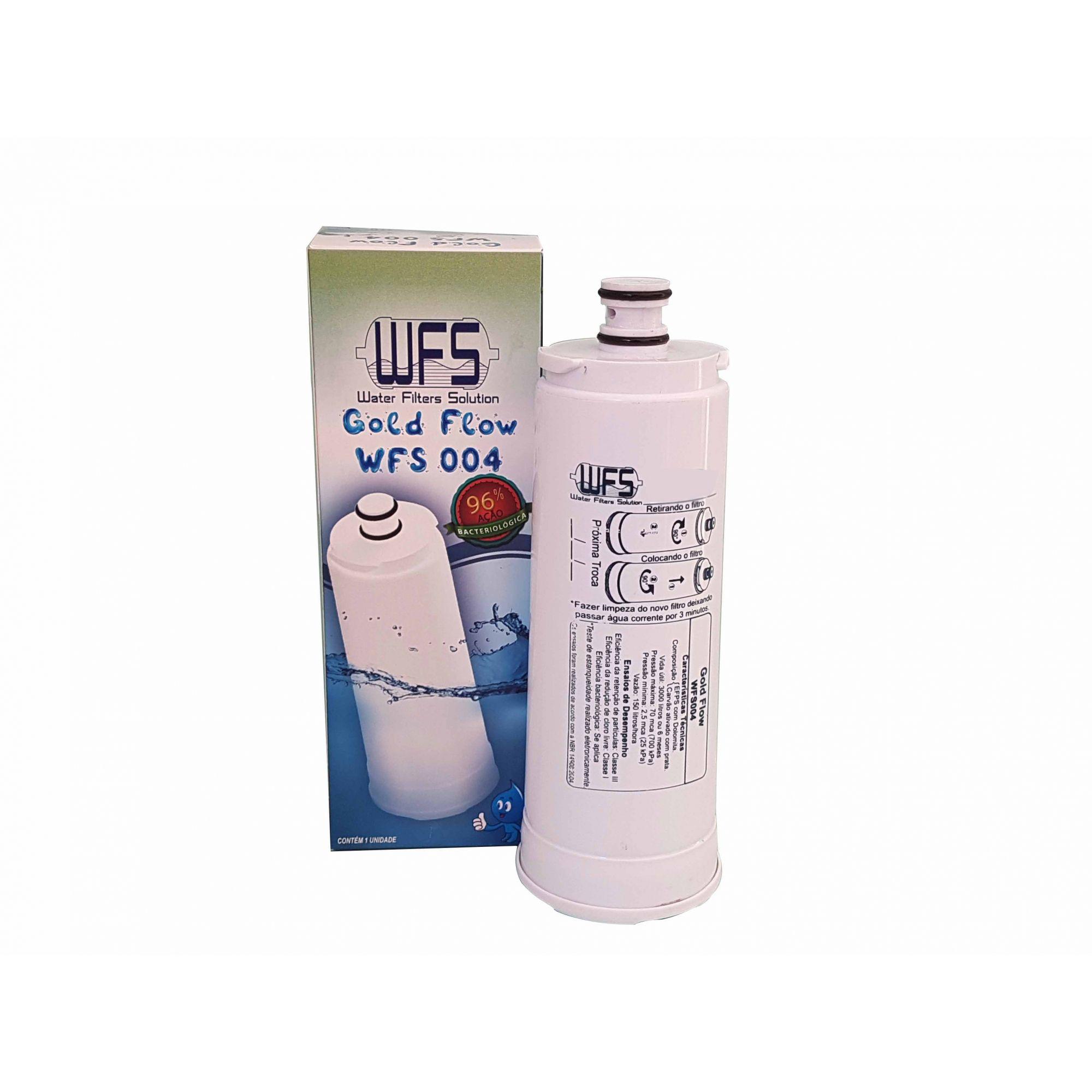 Filtro Wfs 004 Compativel Purificador Masterfrio Rótulo Azul