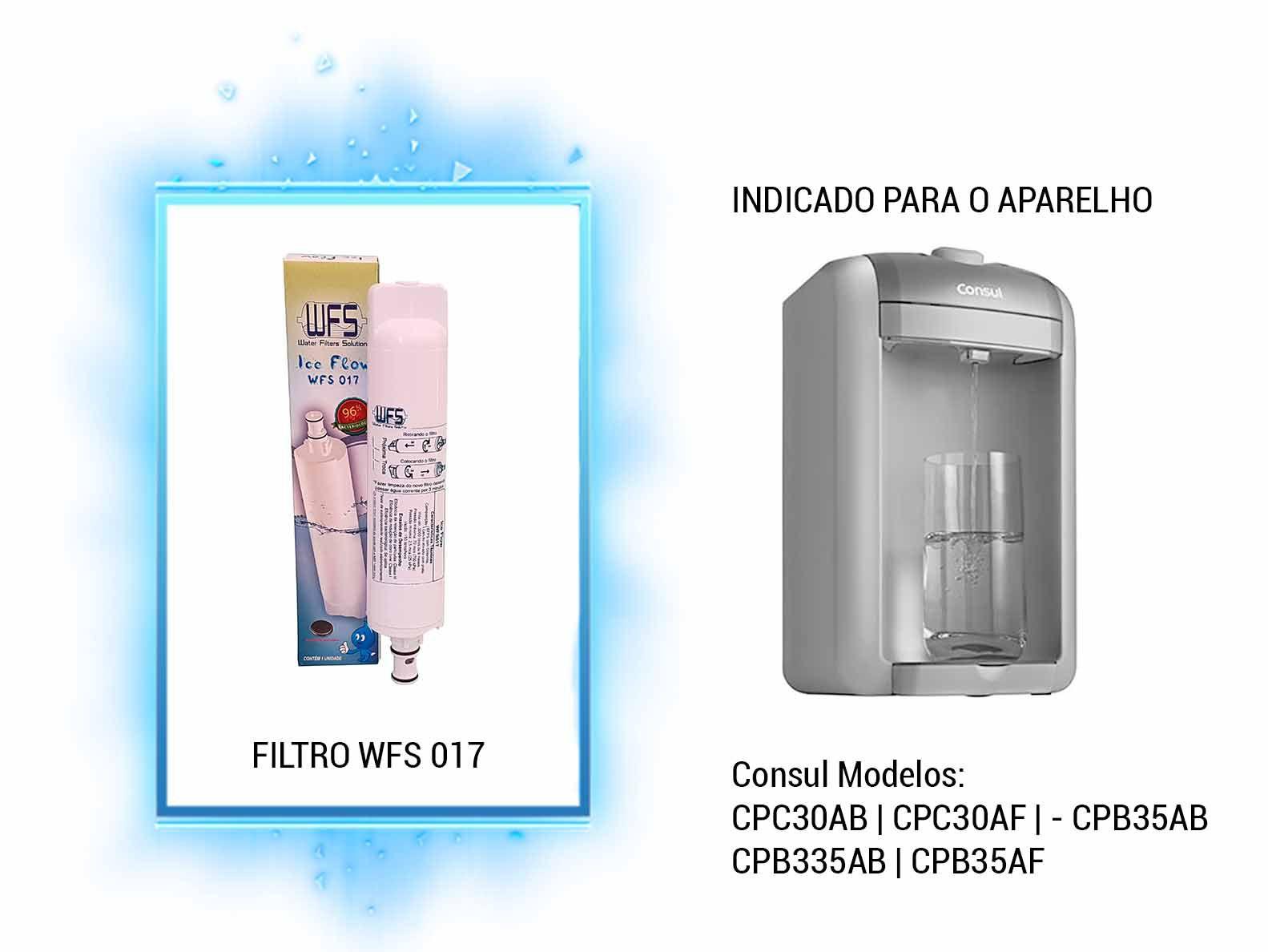 Refil para Filtro Purificador Wfs 017   Ice Flow