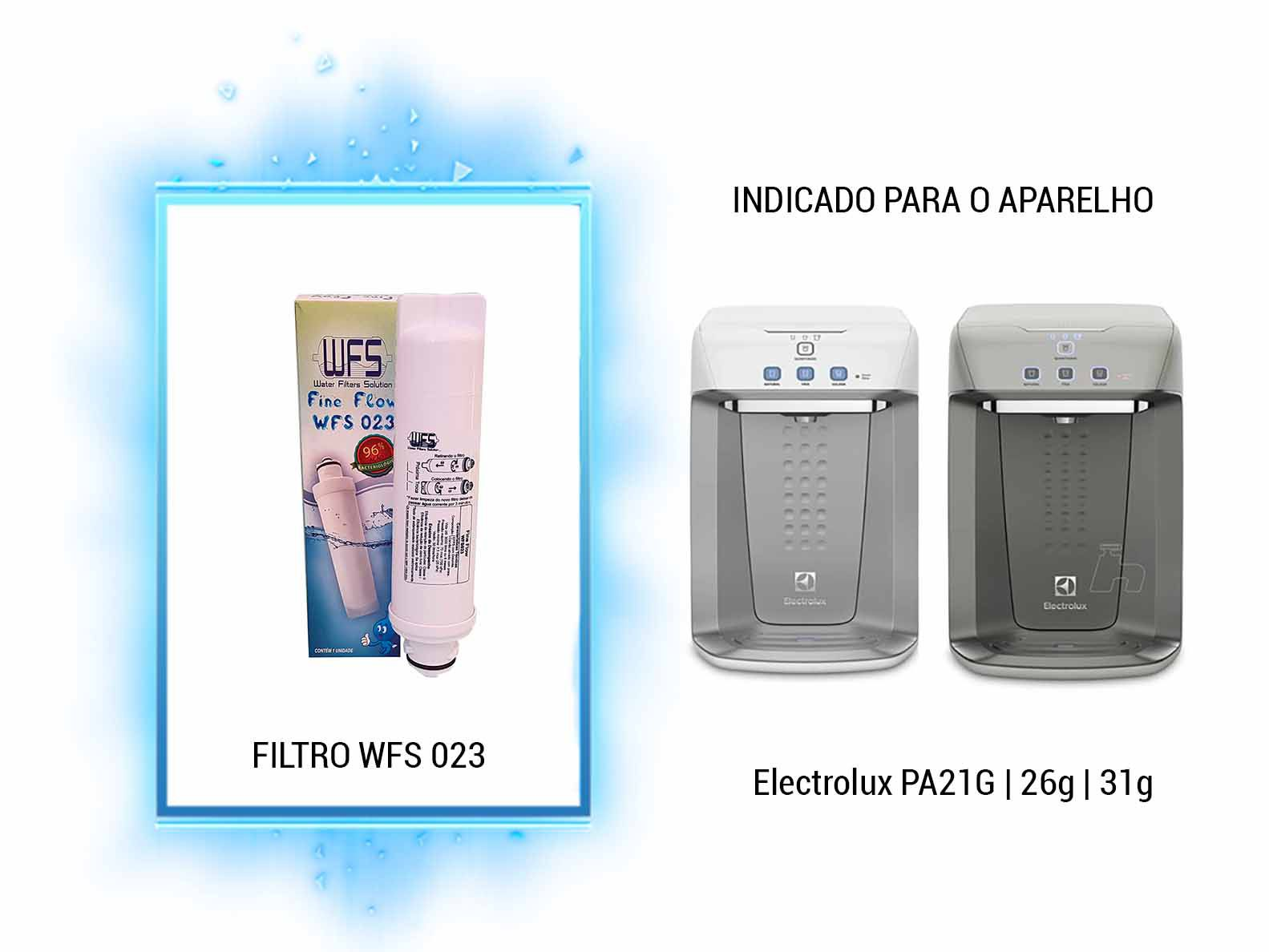 Refil para Filtro Purificador Wfs 023| Fine Flow