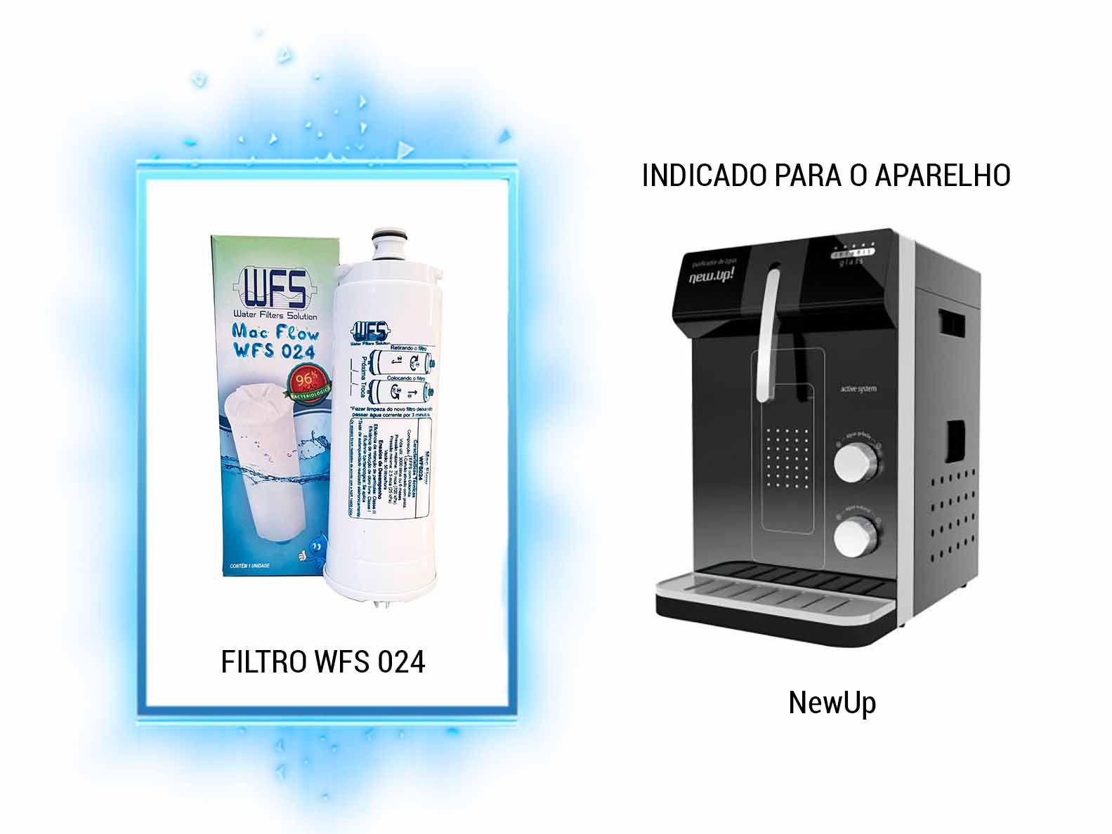 Refil para Filtro Purificador Wfs 024   Mac Flow