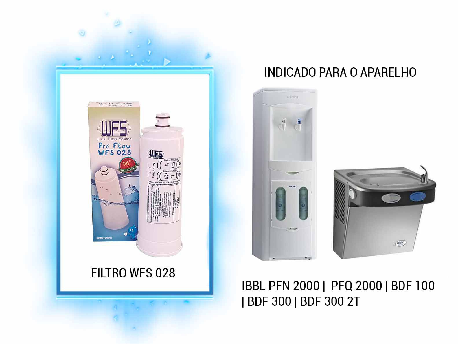 Refil para Filtro Purificador Wfs 028 | Pre Flow