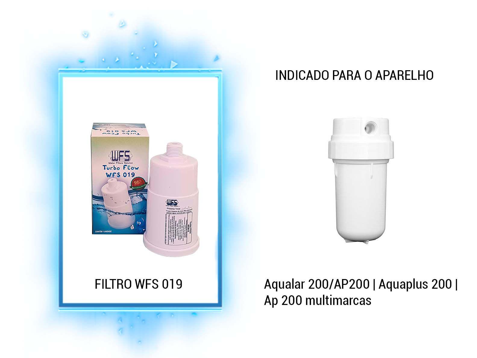 Refil Purificador Aqualar 200/ap200| Wfs 019 | Turbo Flow