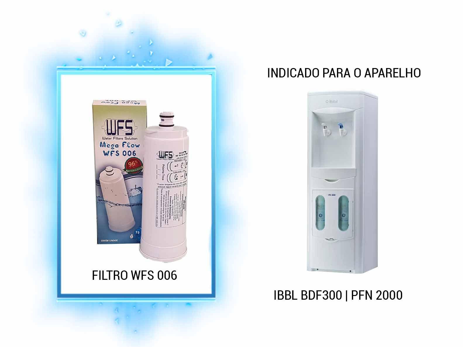 Refil Purificador Electrolux Wfs 006   Mega Flow