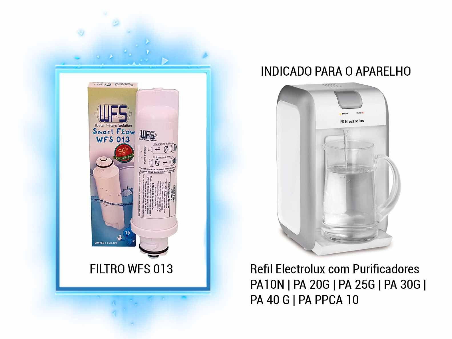 Refil Purificador Electrolux | Wfs 013 | Smart Flow