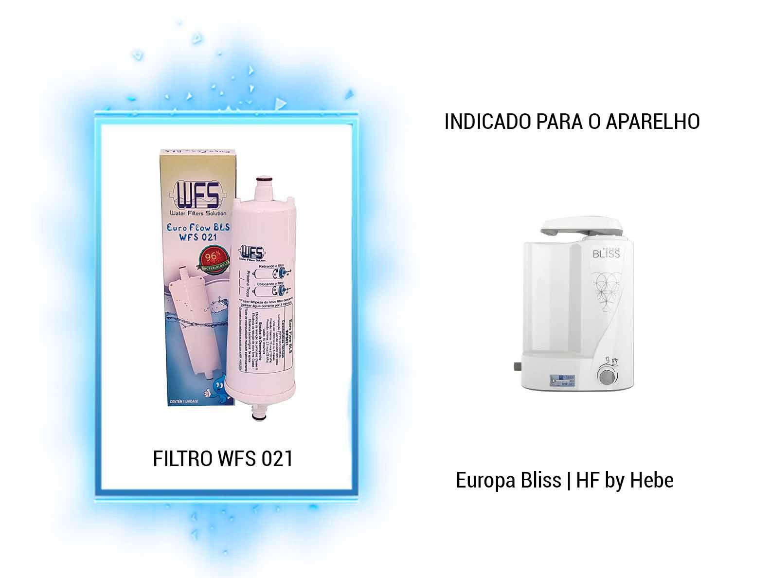 Refil Purificador Europa Bliss| Wfs 021 | Europa Flow BLS