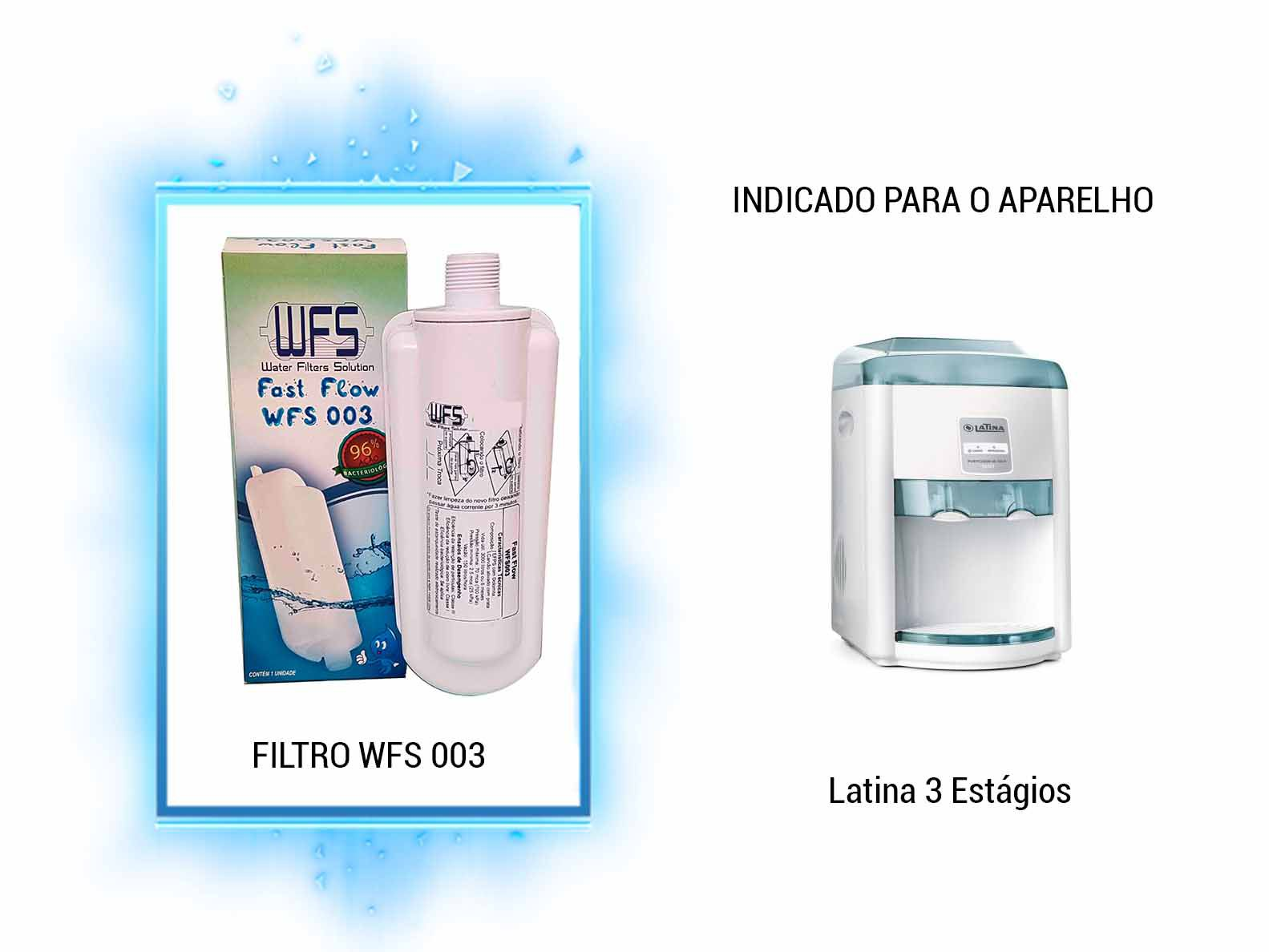 Refil Purificador Latina | Wfs 003 | Fast Flow