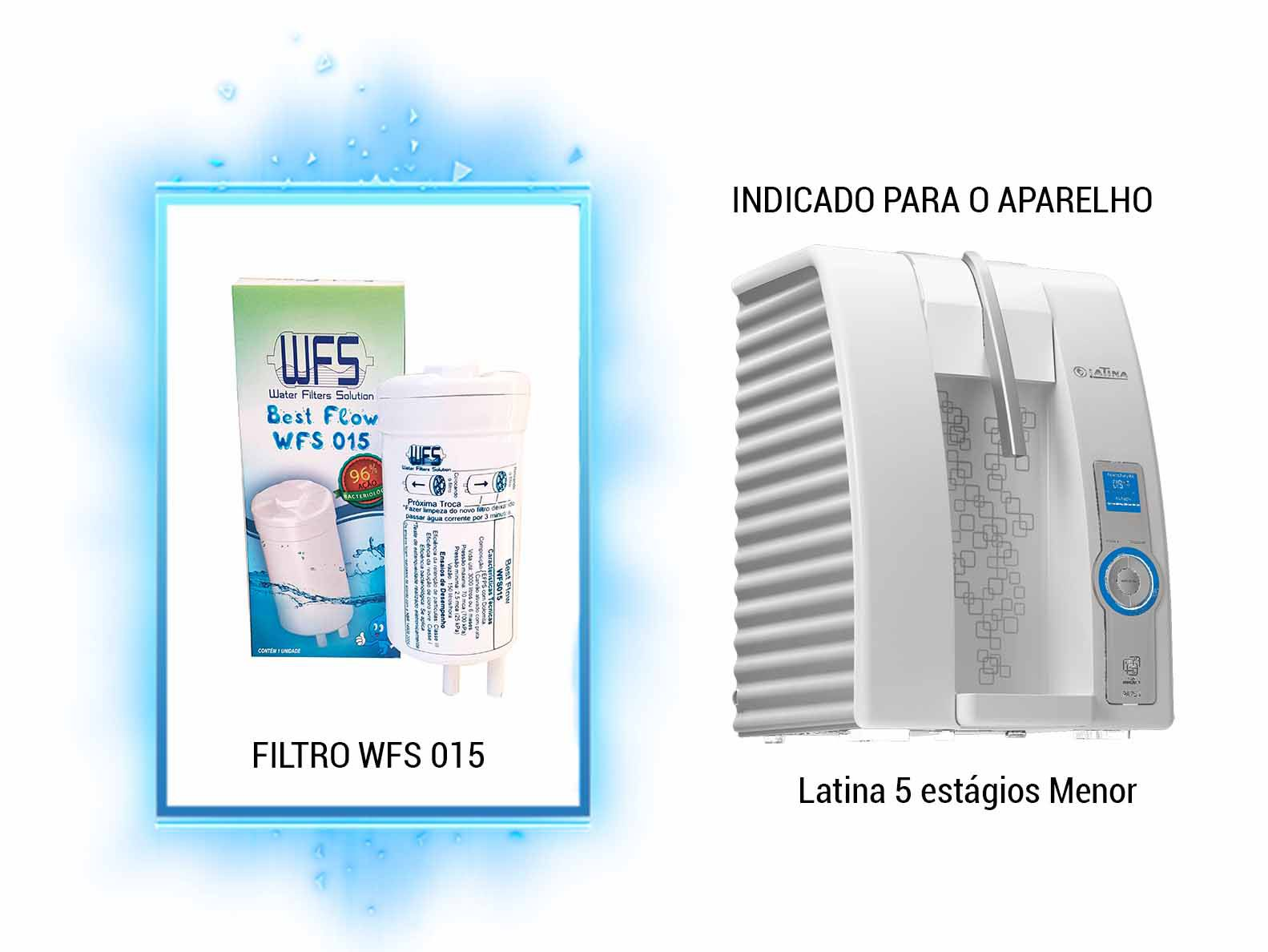 Refil Purificador Latina| Wfs 015 |Best Flow