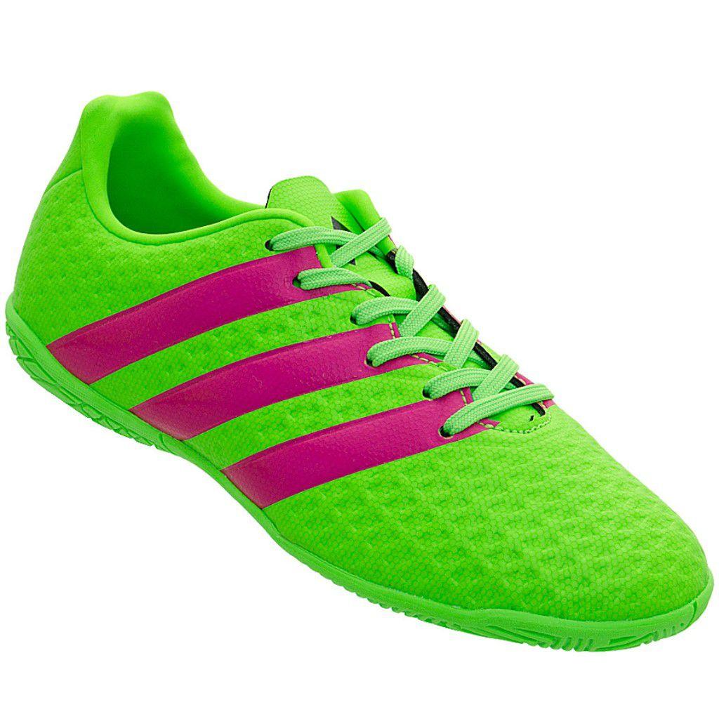 5a5edf87e7 Chuteira Futsal Adidas Ace 16.4 IC Infantil Menino - Shock Sports