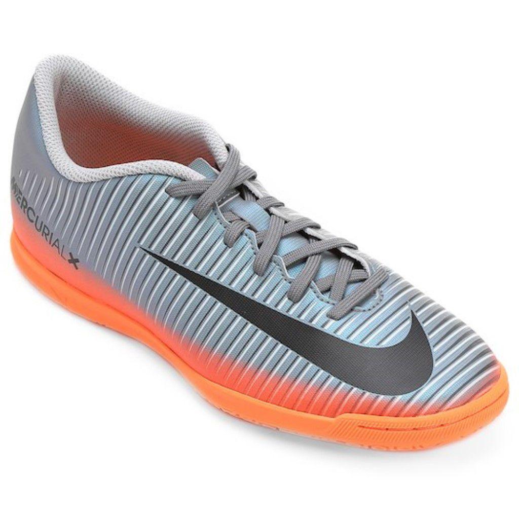19febe611151b Chuteira Futsal Nike Mercurial X Vortex 3 CR7 IC Infantil Menino ...