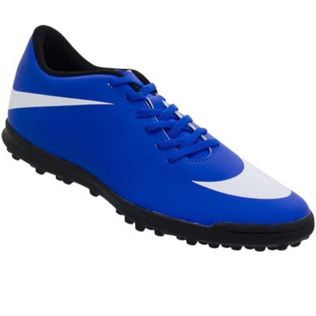 48cf34af73 Chuteira Society Nike Bravata 2 TF Juvenil Menino - Shock Sports