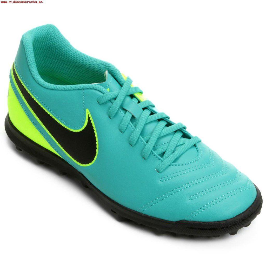 Chuteira Society Nike Tiempo Rio 3 TF Masculino - Shock Sports 33d10c5c8888f