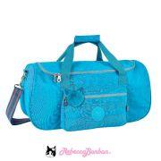 Bolsa Gym / Viagem Rebecca Bonbon Cores: Azul   Roxa   RB9132