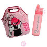 Kit Rebecca Bonbon Bolsa Multiuso Paris + Garrafa Spray