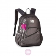 Mochila Laptop Metalizada Stickers Rebecca Bonbon RB2074