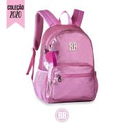 Mochila Laptop Metalizada Stickers Rebecca Bonbon Cores: Preto | Grafite | RB2073
