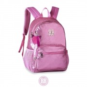 Mochila Laptop Metalizada Stickers Rebecca Bonbon  RB2073