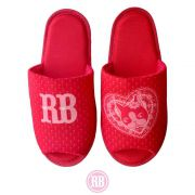 Pantufa Aberta Heart Rebecca Bonbon RB0015-PA