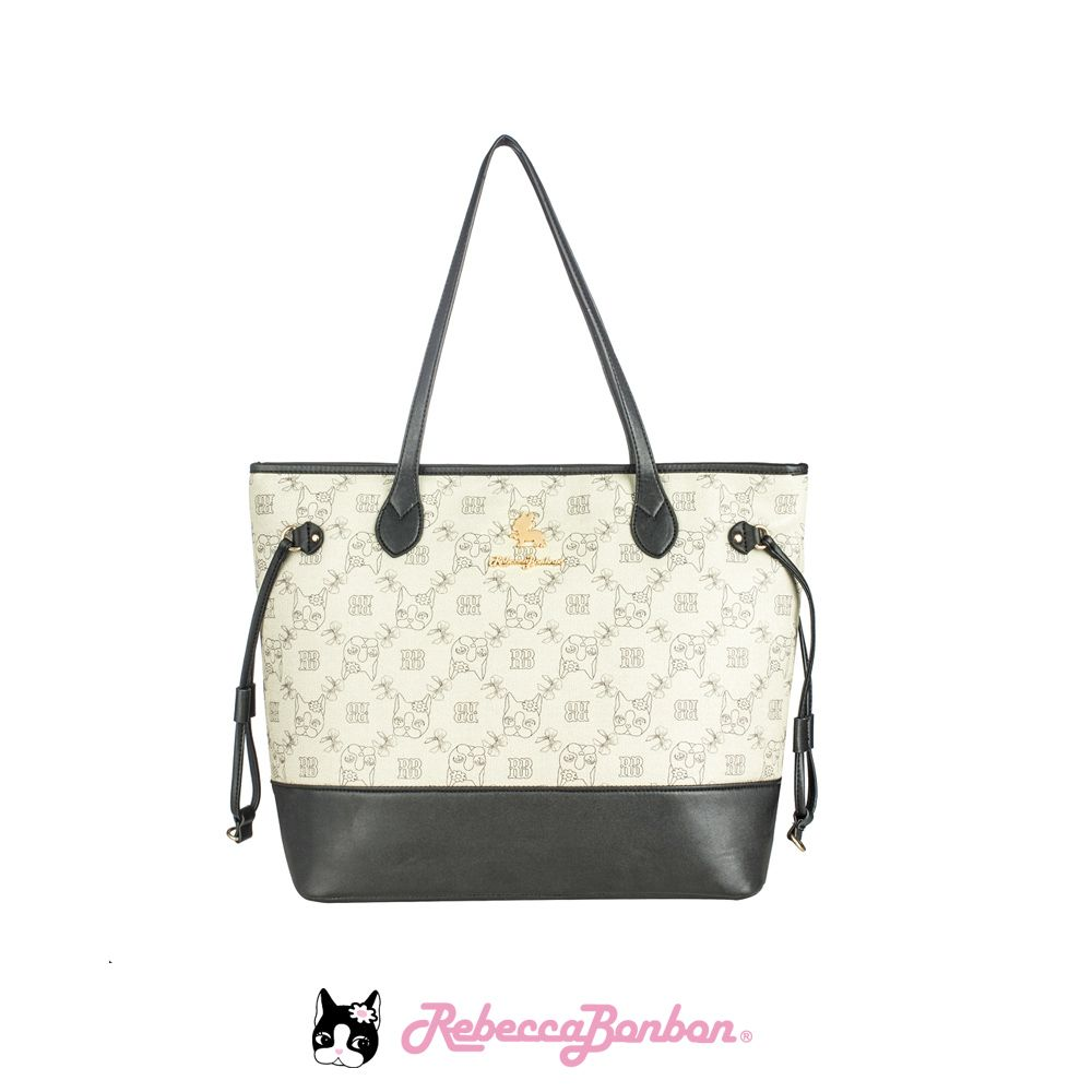 Bolsa Tote Bag Rebecca Bonbon Cores: Preta |Caramelo | Marrom | RB1805