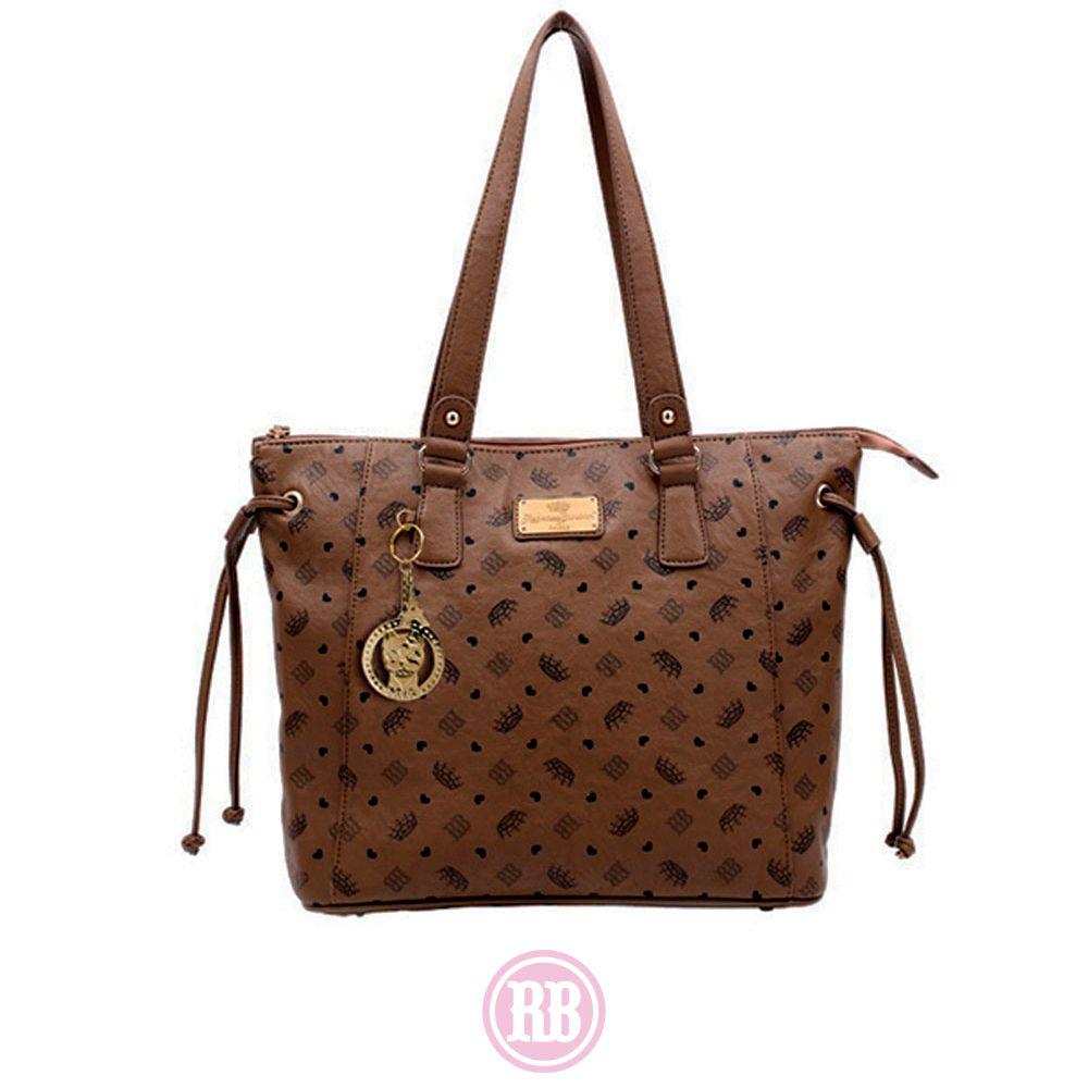 Bolsa Tote Bag Rebecca Bonbon Cor: Marrom | RB2602