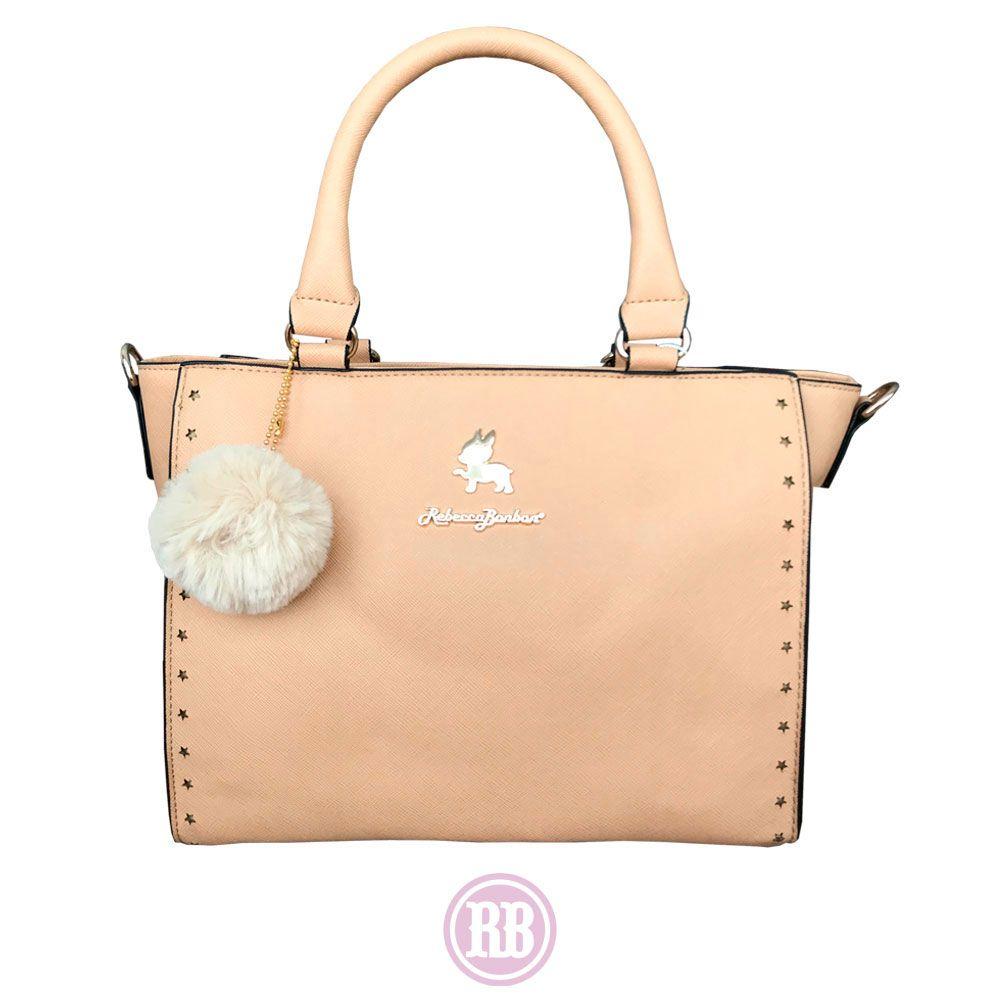 Bolsa Tote Bag Rebecca Bonbon Cores:  Bege | RB3803