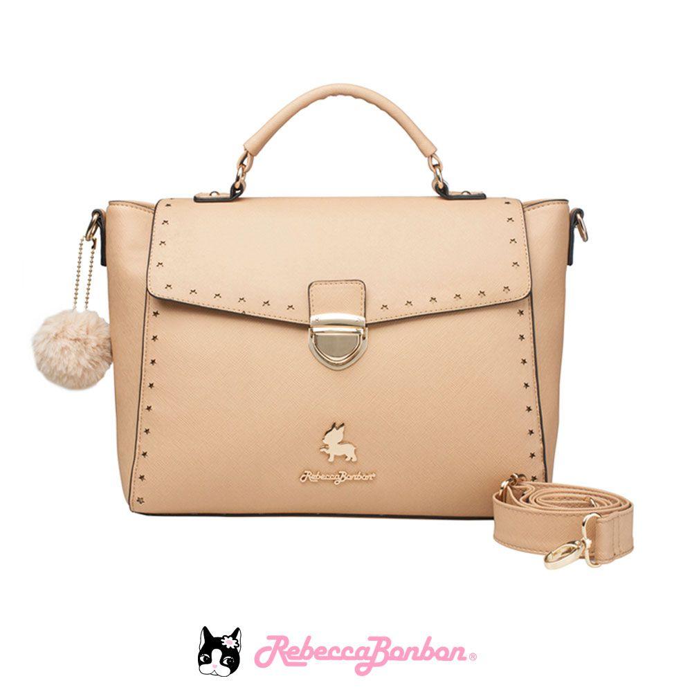 Bolsa Tote Bag Rebecca Bonbon Cores: Bege | Vermelha | Rosê | RB3804