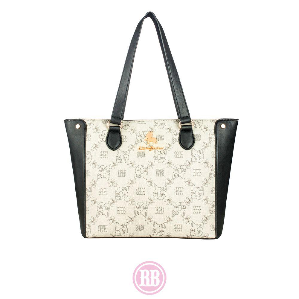 Bolsa Tote Bag Rebecca Bonbon Cores: Caramelo | Preta |  Marrom | RB1804