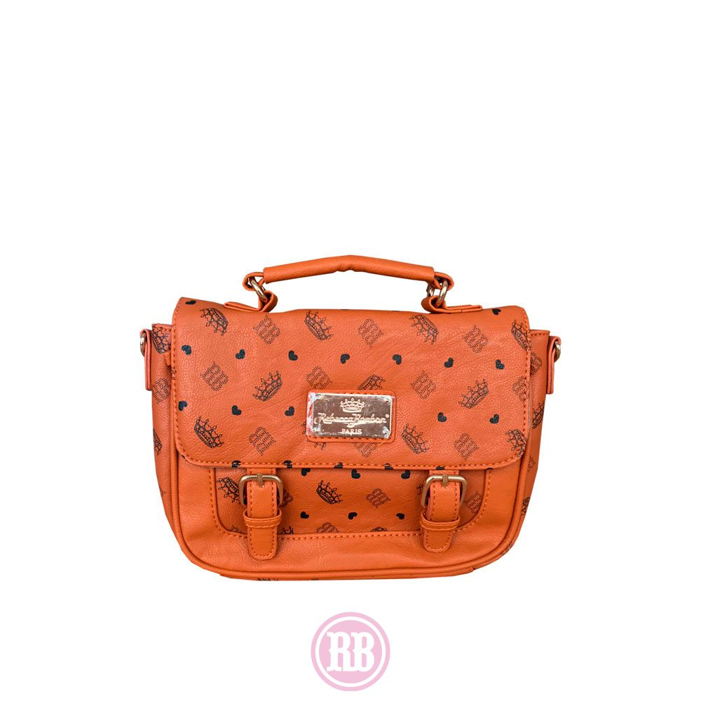 Bolsa Transversal Rebecca Bonbon Cores: Caramelo | Preta | RB2605