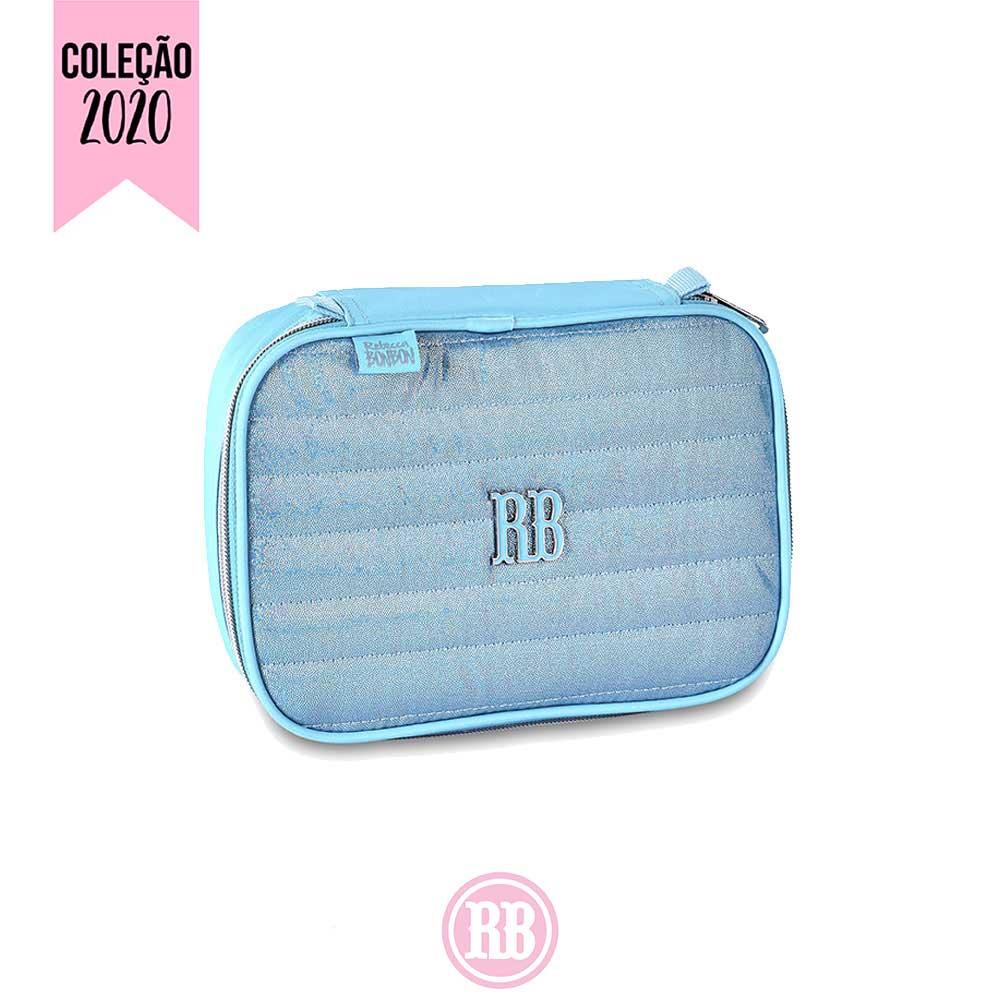 Estojo 100 Pens Glitter Rebecca Bonbon Cor:  Azul |Rosa | Roxo | RB2065