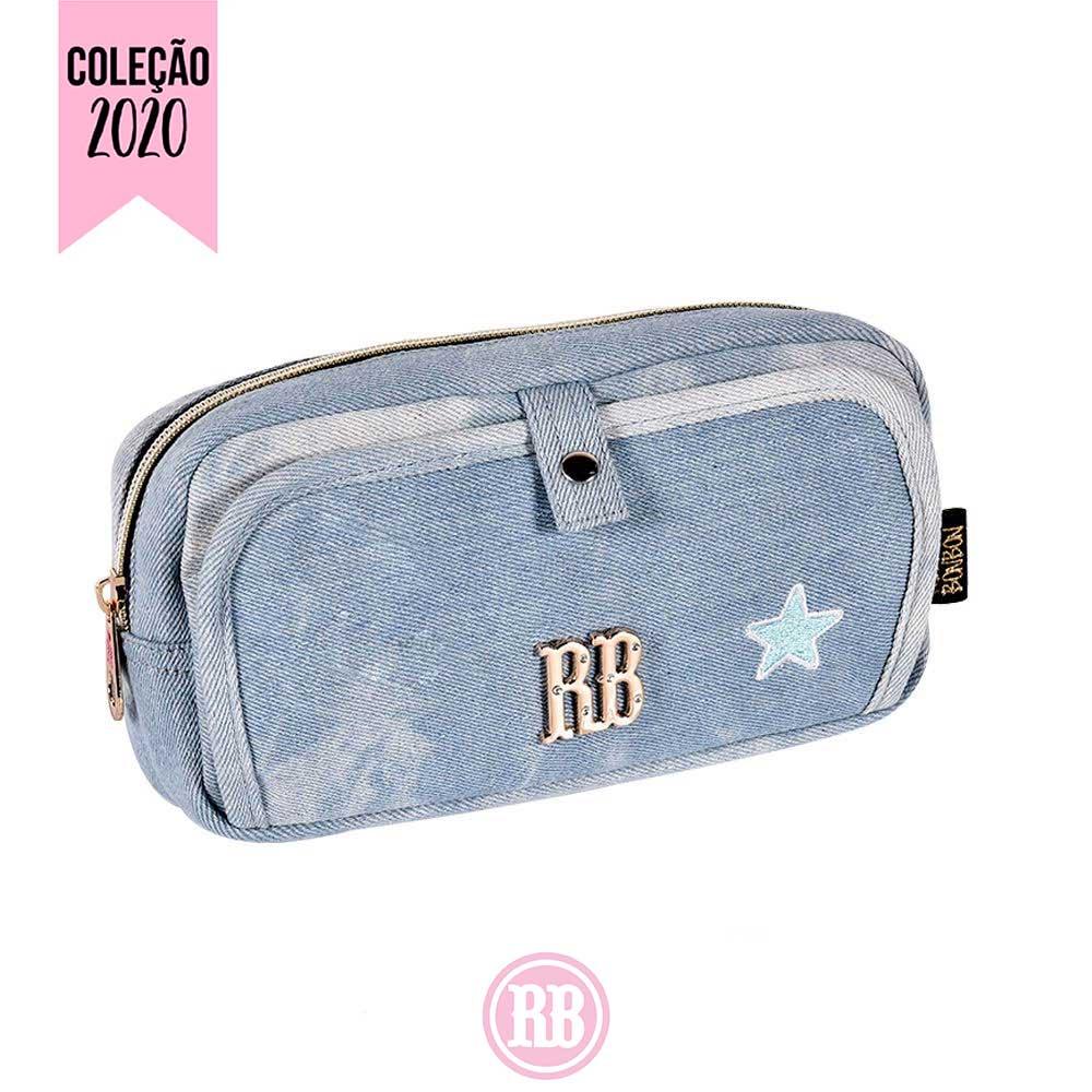 Estojo Duplo  Rebecca Bonbon | Jeans RB2057