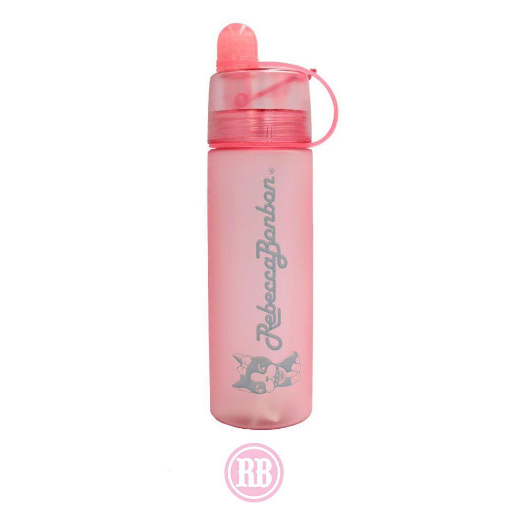 Garrafa Spray Rebecca Bonbon 420ml Rosa