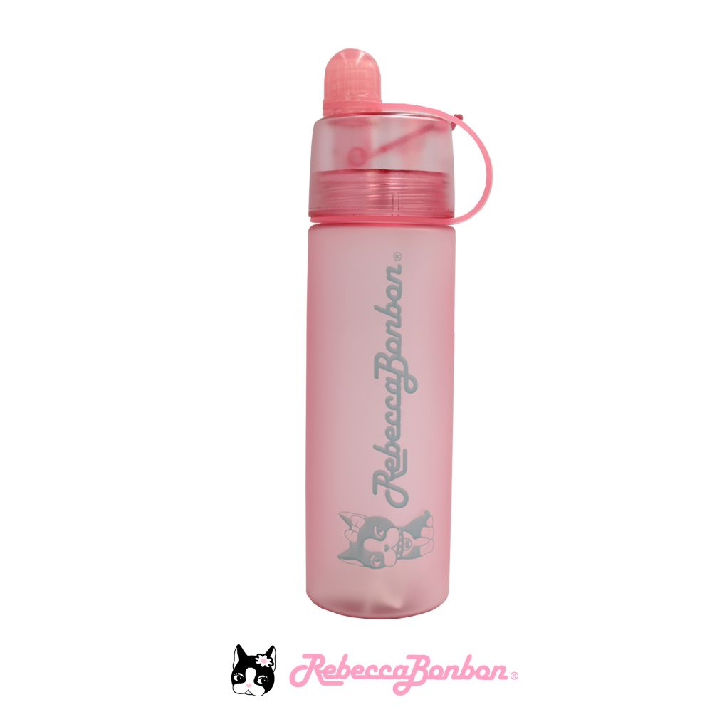 Garrafa Spray Rebecca Bonbon 420ml Rosa