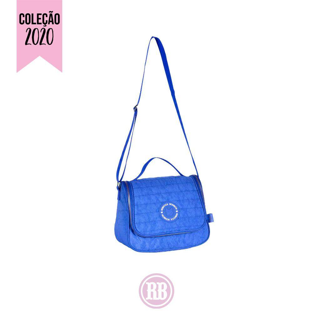 Lancheira Térmica Rebecca Bonbon Cores:  Azul | Laranja | Preta | RB2045