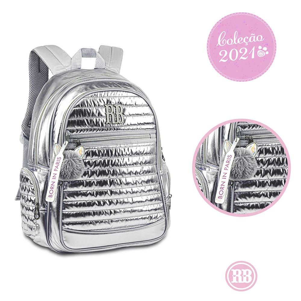 Mochila Laptop Metalizada Rebecca Bonbon RB3114