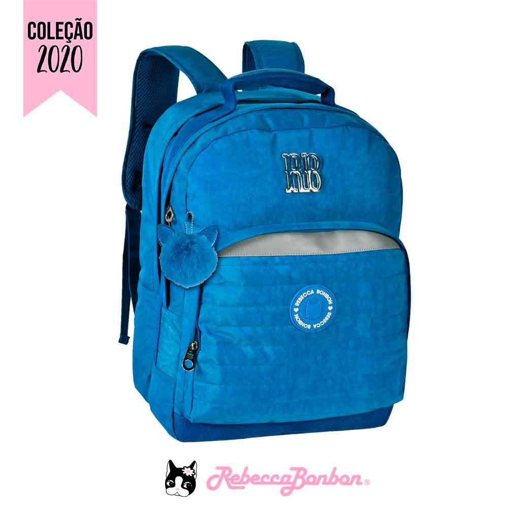 Mochila Laptop Rebecca Bonbon Cores: Azul | Laranja | Preta | RB2041