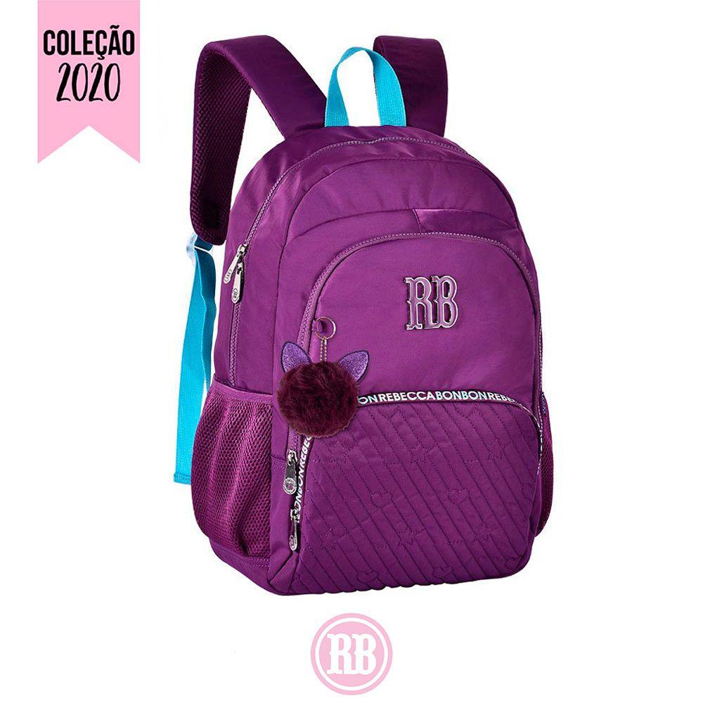 Mochila Laptop Rebecca Bonbon Cores: Rosa | Roxa | RB2060