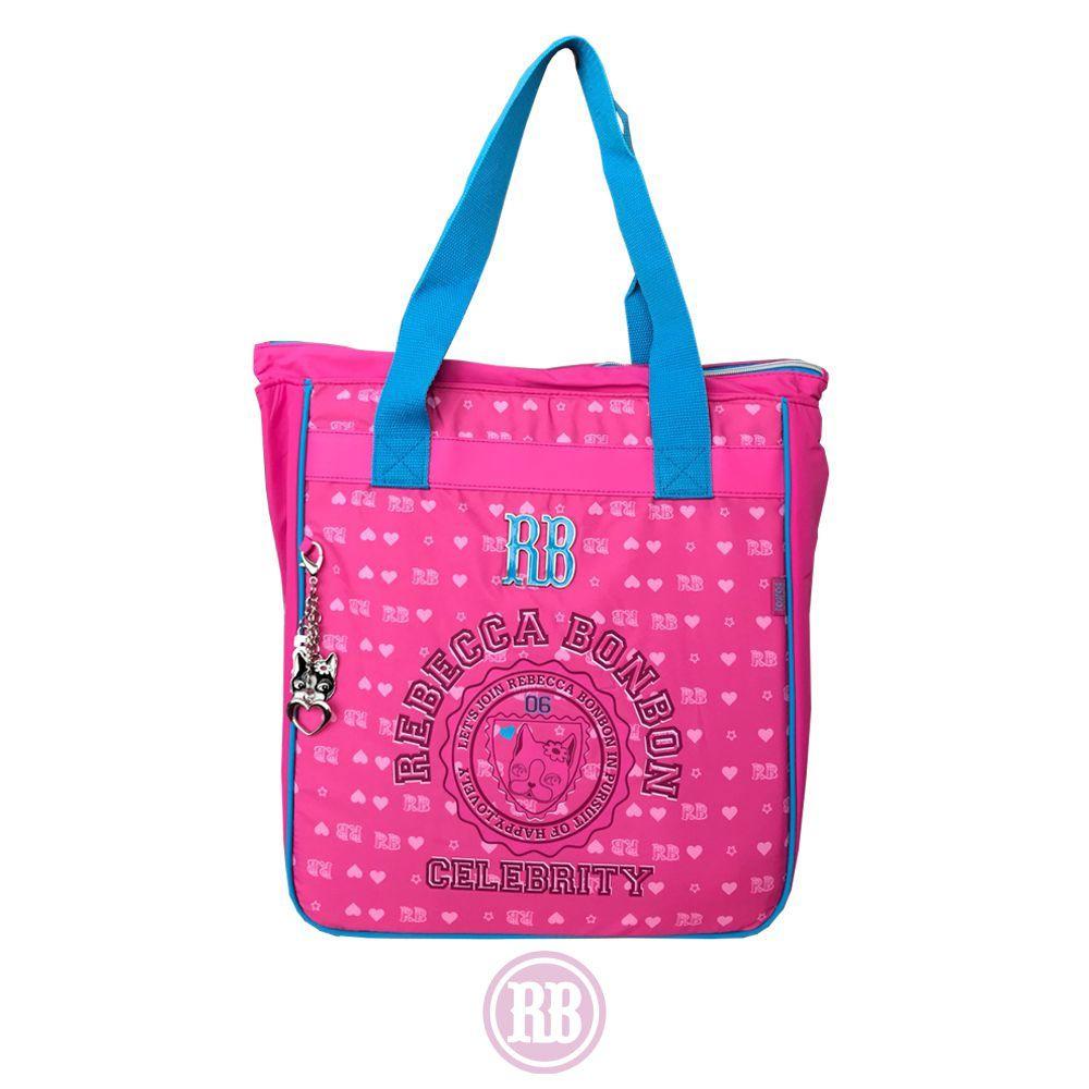 Tote Bag Rebecca Bonbon Cores: Rosa | Roxo | RB7183