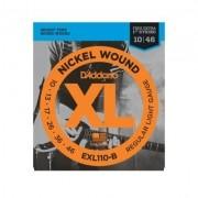Encordoamento D'Addario Guitarra EXL110 0.10 Nickel Wound