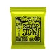 Encordoamento Ernie Ball Guitarra REGULAR SLINKY 2221 0.10 Nickel Wound