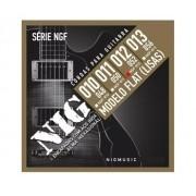 Encordoamento NIG Guitarra NGF 0.12 Flat