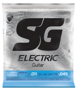 Encordoamento SG Guitarra Light 0.11