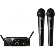 Microfone AKG S/ Fio WMS40 Mini Dual Vocal Set