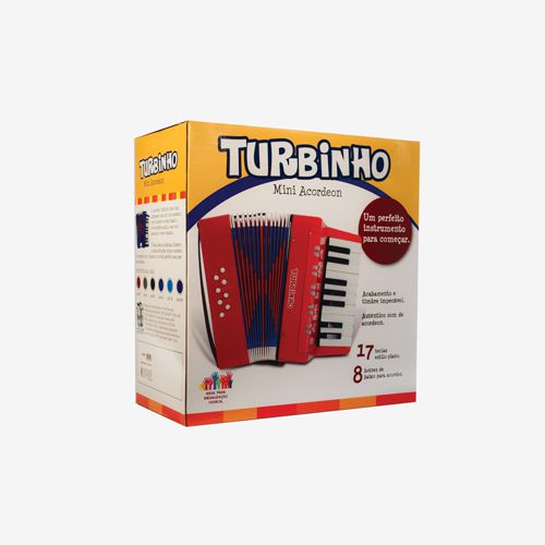 Acordeon Turbo lnfantil ST102