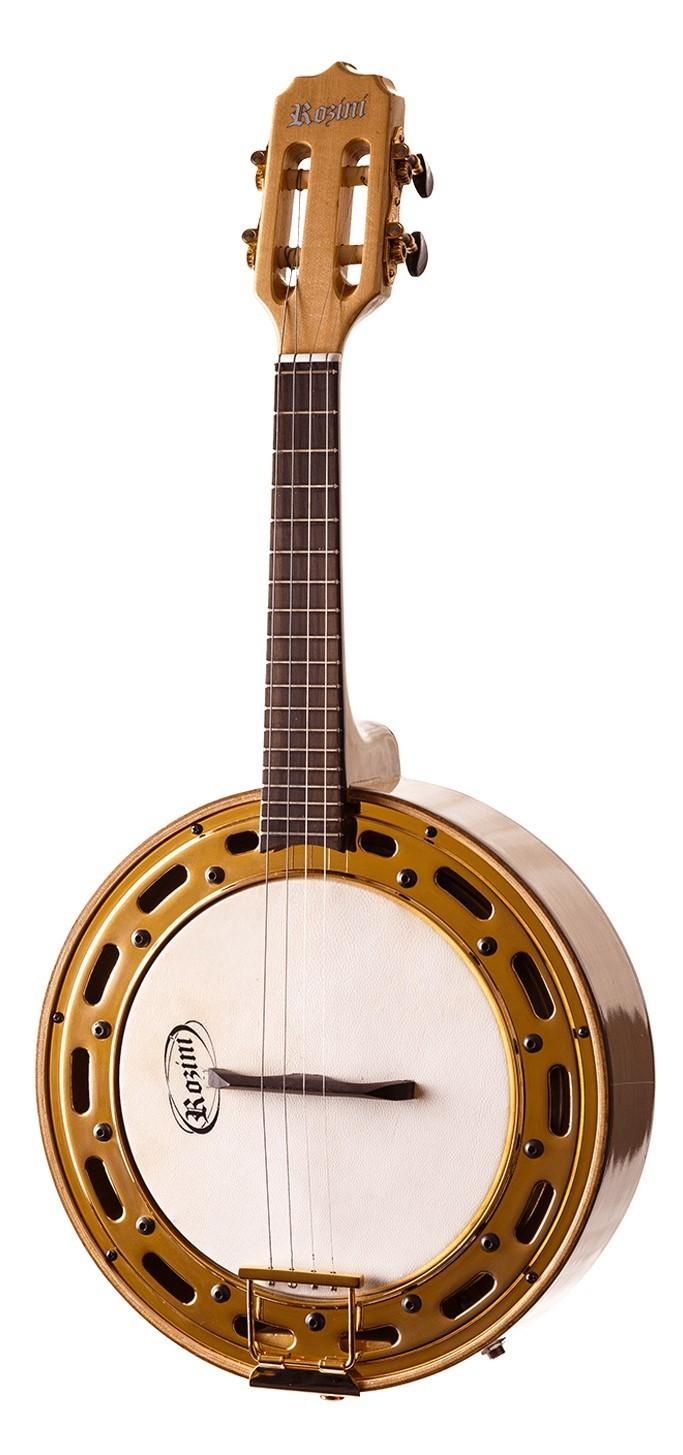 Banjo Cavaco Rozini Profissional Elétrico Claro