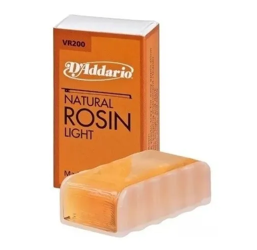 Breu D'addarío Natural Rosin Claro para Violino e Viola