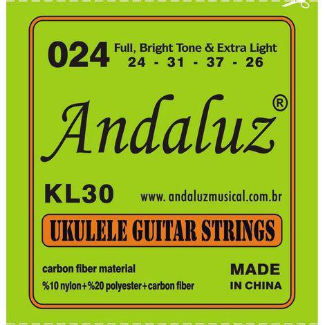 Encordoamento Andaluz Ukulele KL30