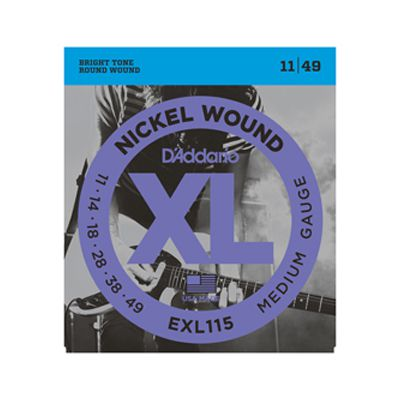 Encordoamento D'Addario Guitarra EXL115 0.011 Nickel Wound