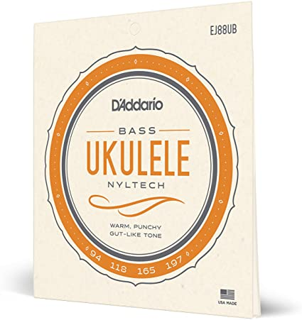 Encordoamento D'Addario Ukulele Bass Nyltech