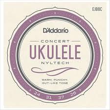Encordoamento D'Addario Ukulele Concert Nyltech